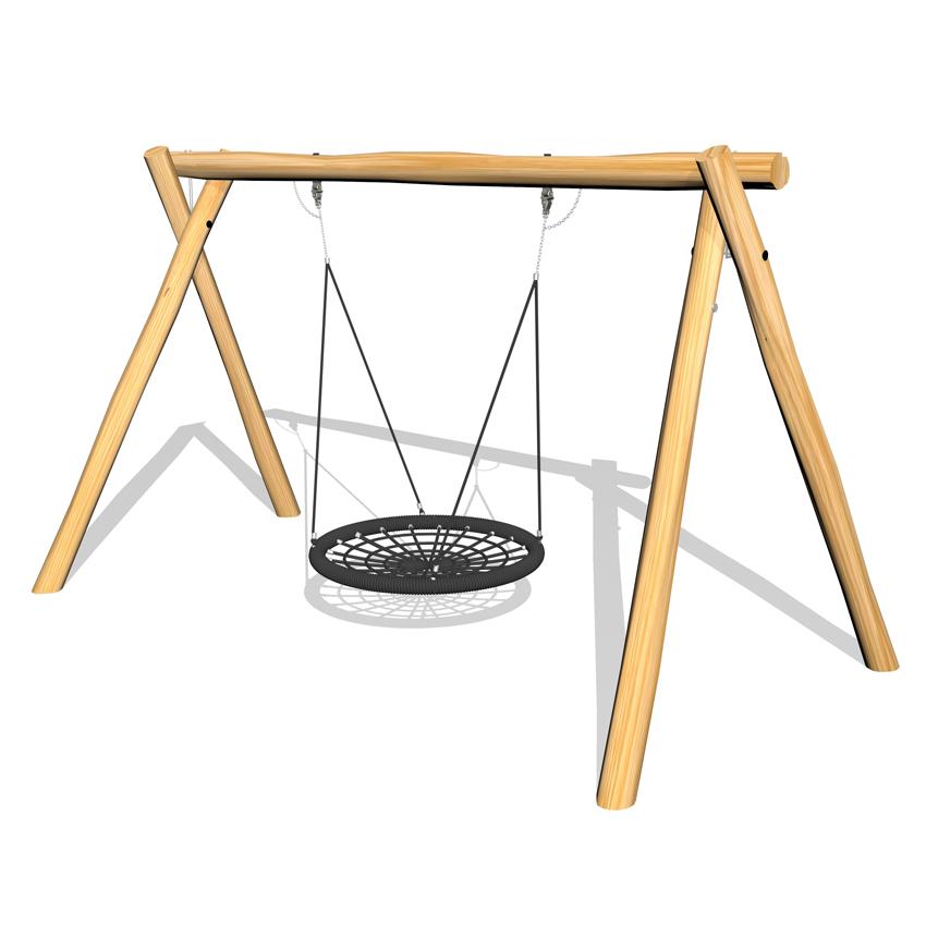 Gungställning med kompisgunga - Woodwork AB