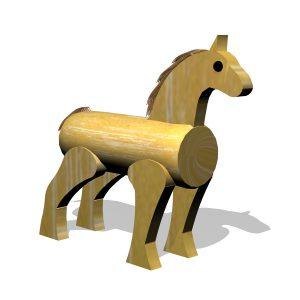 G700912 – Trähäst i robinia