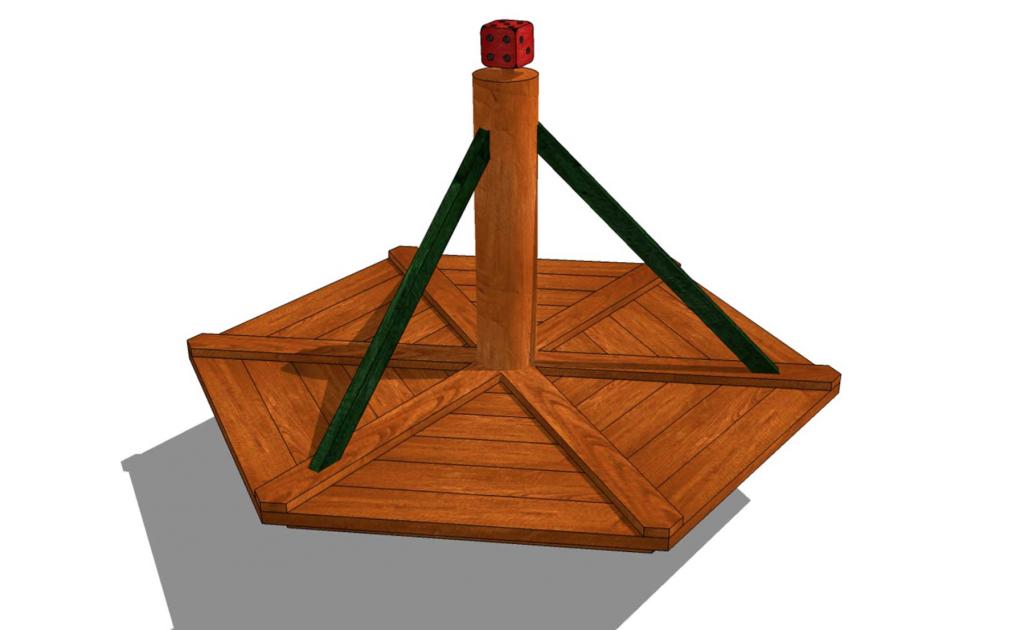 Balansbräda/karusell-Woodwrok AB