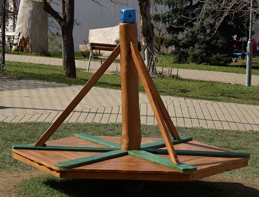 Balansbräda/karusell - Woodwork AB