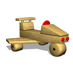 G700404 Flygplan i robinia