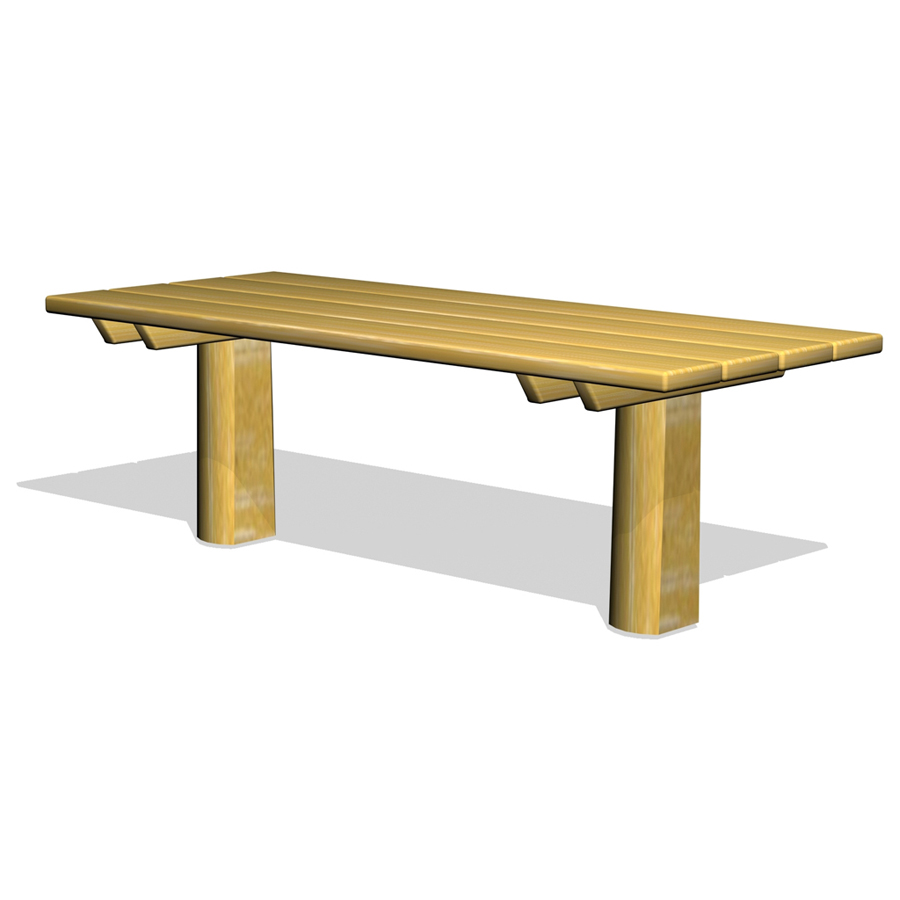 bord i robiniaträ-Woodwork AB