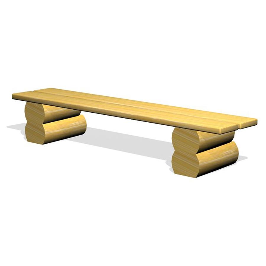 Woodwork AB-parkbänk i robinia