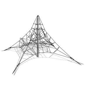 Klätterpyramid i stål, 3m – G3702