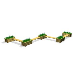 G80039 Sittgrupp med odlingslådor