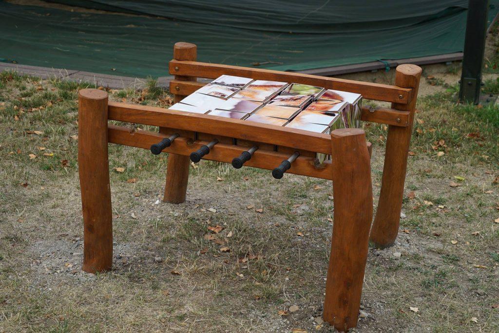 Pusselspel för skolgården-Woodwork AB