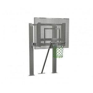 G52056 Basketmål med stativ till multibana