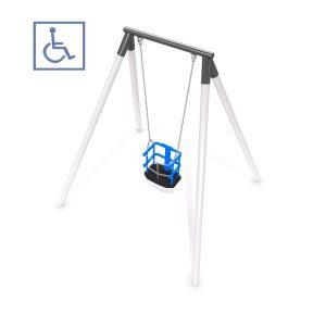 Gungställning med handikappanpassad sits- IP-GM160
