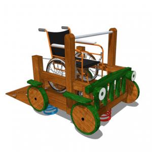 HH1C02-302 Fjäderlek för rullstol