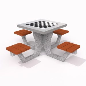 IP-MR8001 Schackbord i betong
