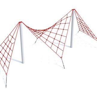 IP-W105 Dubbel nätstruktur