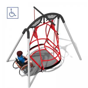 Rullstolsgunga i stål – IP-GM1611