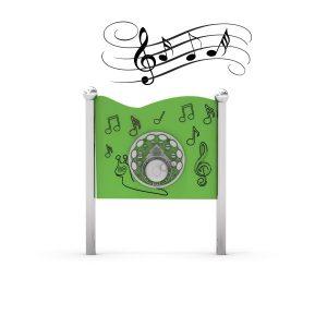 Musikpanel med olika instrument (IP-K823 )