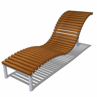 Vilstol i trä och stål – HH3D00-007
