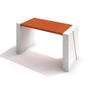 IP-DECO 01 Bord i betong/trä
