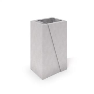 Papperskorg i betong (IP-ST03DCRB01)