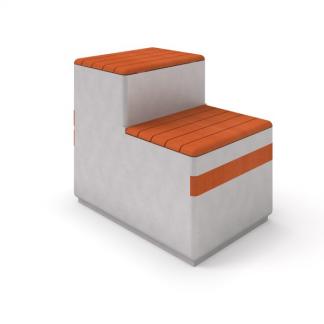 IP-DECO 14 Bänk i betong/trä