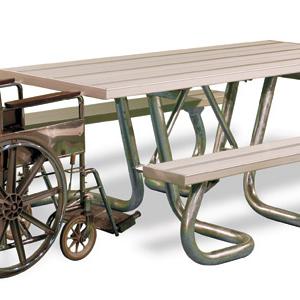 Bord&bänkset tillgängligt för rullstol – WXTHanp.