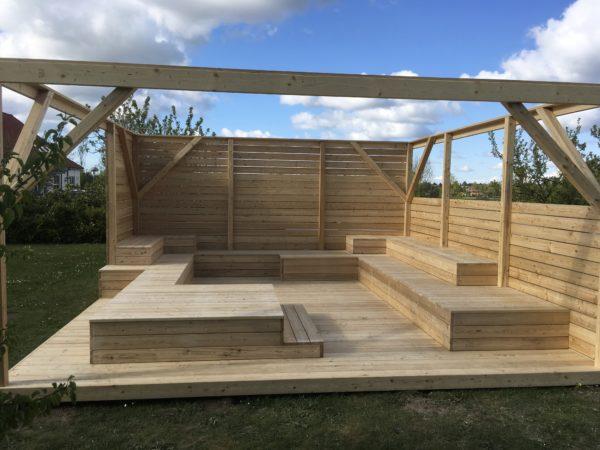 Uterum för undervisning-Woodwork AB