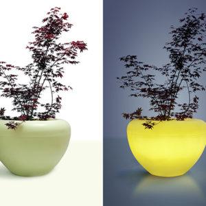 Blomkruka Scoop Light med LED belysning – MS-SL