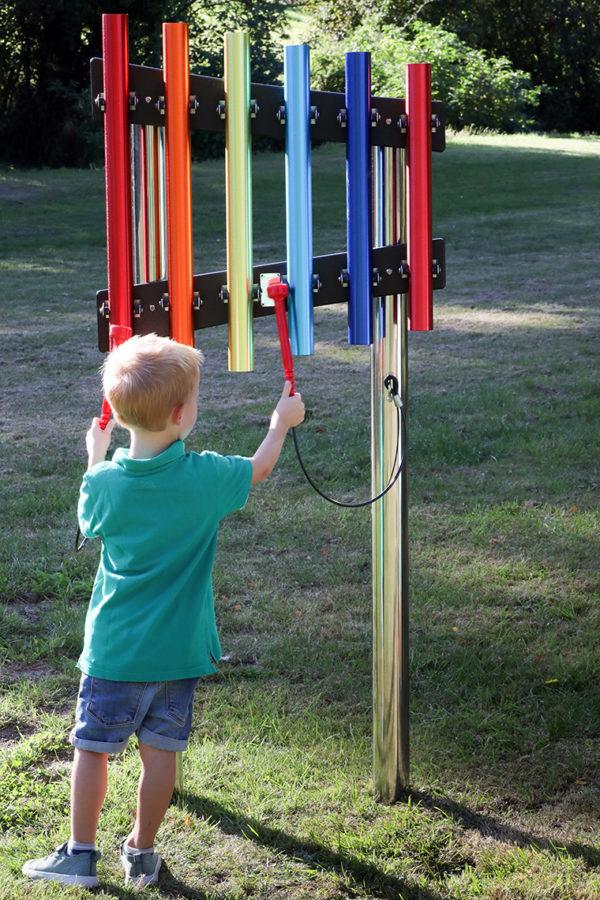 Musikinstrument rainbow chimes