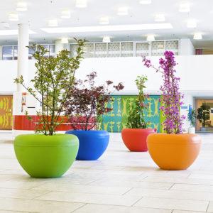 Blomkruka Scoop i återvinningsbar PE plast – MS-S