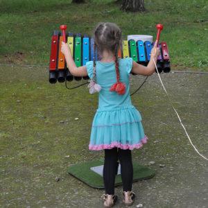 Cavatina xylofon för utomhusbruk (C-dia)
