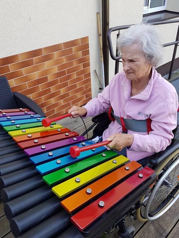Cavatina xylofon för lekplatsen - Woodwork AB