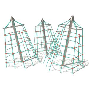 Stålpyramider
