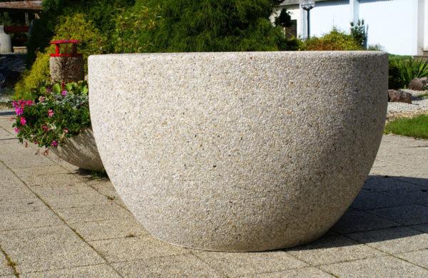 Planteringskruka i betong