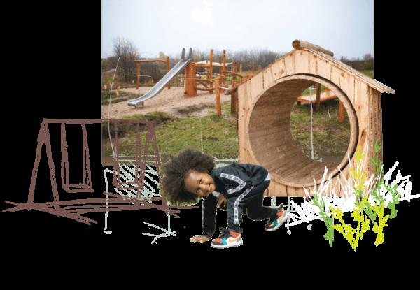 Interaktiv lek;Energihjul Natur - Woodwork AB