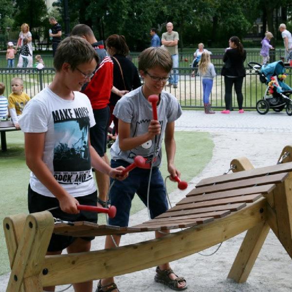 Musikinstrument Marimabas/Akadinda